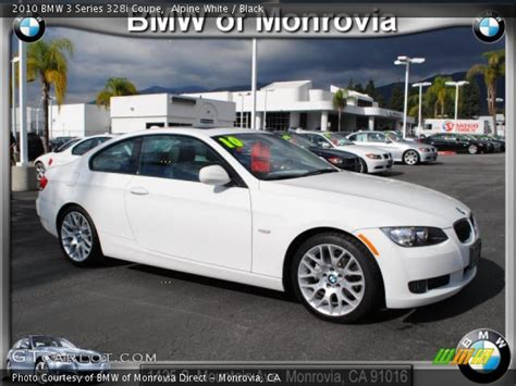 2010 Bmw 328i Coupe by Alpine White 2010 Bmw 3 Series 328i Coupe Black