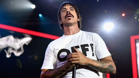 Red Hot Chili Peppers' Anthony Kiedis Provides Health