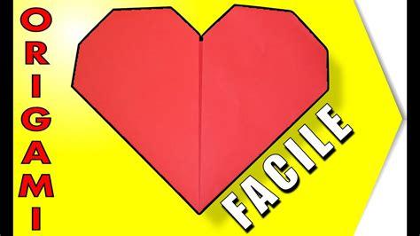 Comment Faire Un Coeur En Papier 👉pliage Origami Facile