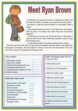 3123 Free Esl Present Simple Tense Worksheets