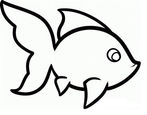 fish drawings cartoon clipartsco