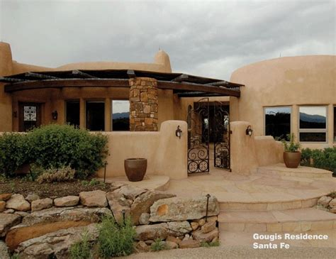 Modern Work Of Mexican Architecture : Plan A Architecture Residential Design Santa Fe New Mexico