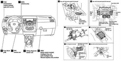 nissan altima radio fuse location auto electrical