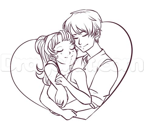 anime couple draw cute couple drawings pinterest teen couples anime