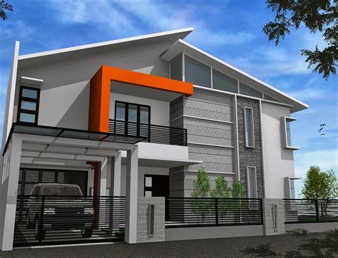 gambar desain arsitektur rumah modern minimalis