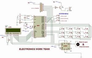 8051 Microcontroller Based Electronic Locker System