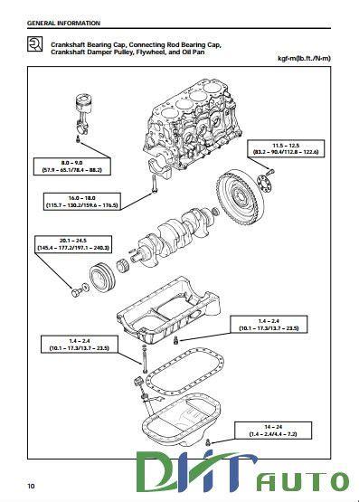 isuzu diesel engine ja  jb workshop manual