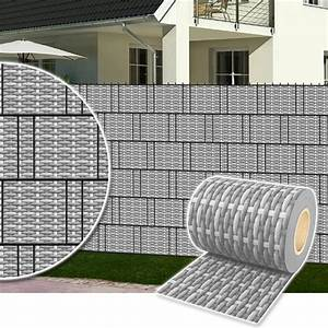 Sichtschutz Für Doppelstabmatten : sichtschutz rolle pvc zaunfolie f r doppelstabmatten zaun streifen poly rattan ~ Orissabook.com Haus und Dekorationen
