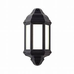endon el 40116 enluce led half lantern outdoor wall light With outdoor wall lights for sale uk