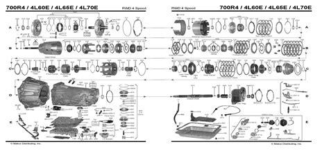 Line Diagram 4l80e by Diagram 4l60e Transmission Diagram Auto Trans Chart