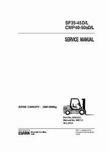 Clark Sf35 L  U0026 Cmp40 L Sm712 Pdf Manual