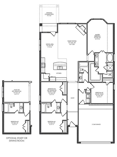 Brighton Homes Floor Plans Houston by House Plans The Brighton At Willow Creek Farms In
