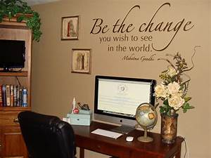 Belvedere designs february 2012 for Decorating office walls