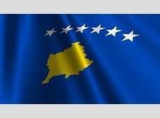 Kosovo Flag Loop 3 Stock Footage Video 1372372 Shutterstock