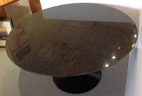granite top tables for sale saarinen granite top pedestal dining table 54 quot round for