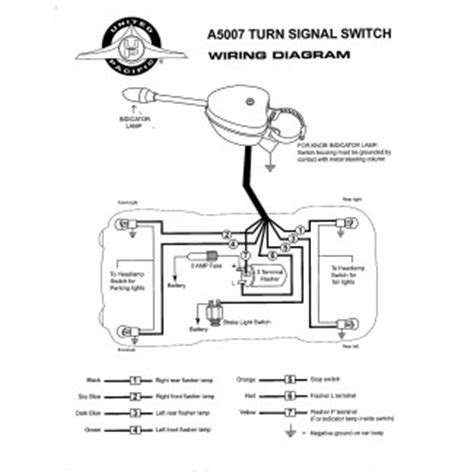 Chrome Plated Turn Signal Switch United Pacific