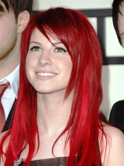 secrets  magic red hair  women hairstyles