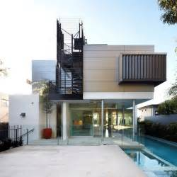 home design architect house with outdoor spiral staircase leading to rooftop deck modern house designs