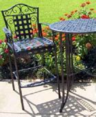 refinishing your wrought iron patio furniture the
