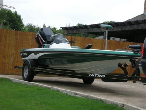 Used Nitro Boats For Sale In Sc by 2005 Tracker Nitro Nx 898 Sc Fishing Boat For Sale In Blue