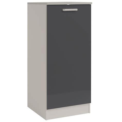 armoire de cuisine a bas prix demi armoire de cuisine 60cm quot shiny quot gris