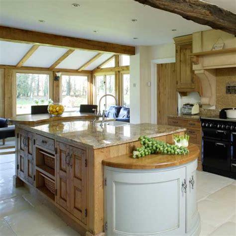 Large Openplan Country Kitchen  Kitchens  Kitchen Ideas