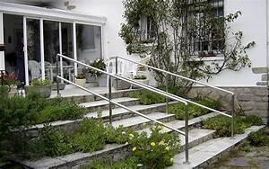 Rampe Pour Escalier : ferronnerie chaudronnerie serrurerie tuyauterie industrielle soudure loire atlantique ~ Melissatoandfro.com Idées de Décoration