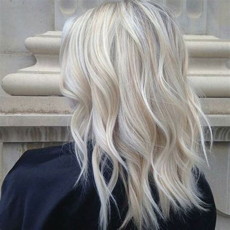 beautiful  trendy icy blonde hair ideas styleoholic
