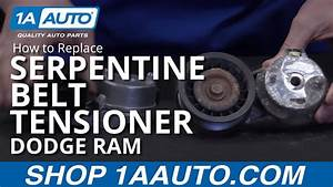 How To Install Replace Serpentine Belt Tensioner 2003