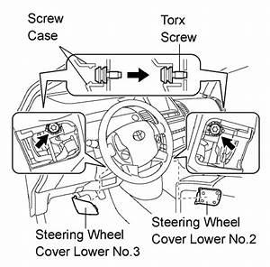 Howtorepairguide Com  Steering Wheel Replacing On Toyota
