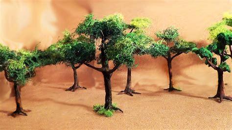 diorama parte 2 193 rvores miniature part 2 trees youtube