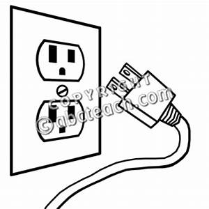 electricity clipart electric plug pencil and in color With gallery for gt electricity symbols for kids