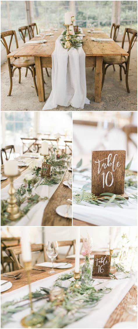 Best 25 Rustic Table Numbers Ideas On Pinterest Wooden