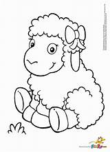 Coloring Sheep Pages Shaun Popular sketch template