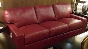 20 photos dark red leather sofas sofa ideas for Dark red leather sectional sofa