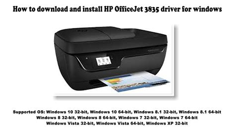 Downloading perfect printer driver software for your hp officejet 3835 printer device is very much essential. How to download and install HP OfficeJet 3835 driver Windows 10, 8 1, 8, 7, Vista, XP - YouTube
