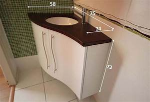 Les meubles de salle de bain d39angles atlantic bain for Meuble salle de bain petit