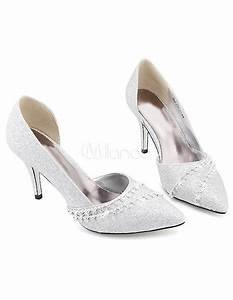 Schuhe Für Hochzeit : h bsche schuhe f r hochzeit mit kunstdiamanten in silber ~ Buech-reservation.com Haus und Dekorationen