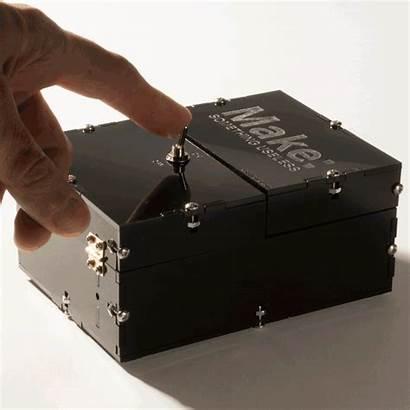 Useless Machine Kit Box Collar Leather Animation