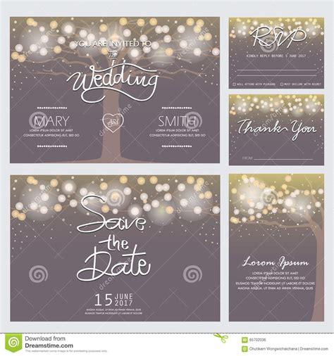 modern wedding invitation card stock vector illustration