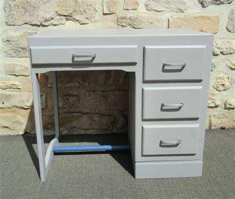 petit bureau en bois ancien petit bureau enfant revisite gris et ardoise