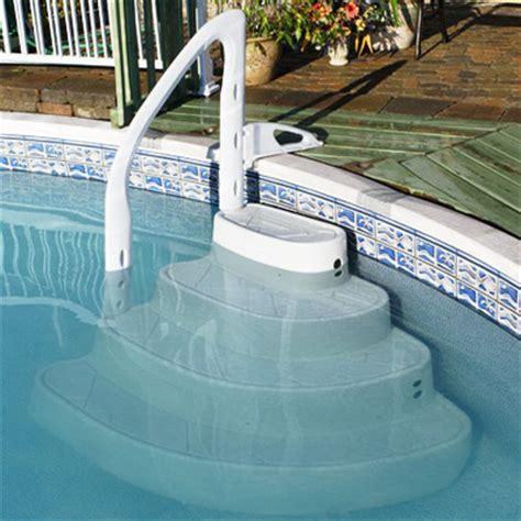 festiva removable pool steps  step