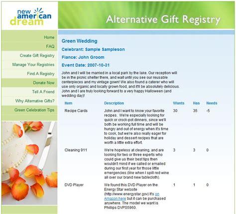 best online wedding registry online wedding registries new american alternative