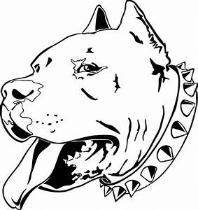 Pitbull Dog Drawing at GetDrawings.com | Free for personal ...