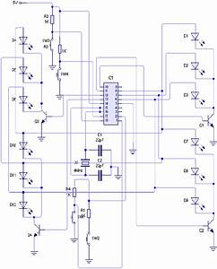 Complete Circuit Diagram Of The Designed Microconroller