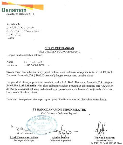 contoh surat pernyataan lunas pembayaran downlllll