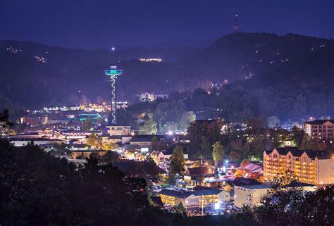 Gatlinburg Lights by Pigeon Forge And Gatlinburg Cabins Alpine Mountain Chalets