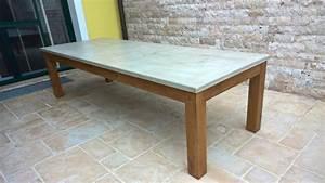 Tischgestell Holz Selber Bauen : holz und metall ein heimwerkerblog terrassentisch selber bauen von untergestell tisch selber ~ Watch28wear.com Haus und Dekorationen