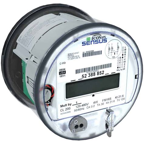 Sensus Products Iconapx Electricity Meters