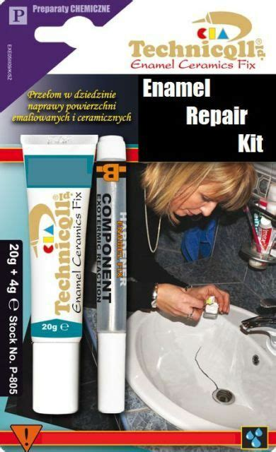 Acrylic Shower Base Repair Kit by How To Repair An Enamel Sink Ebay